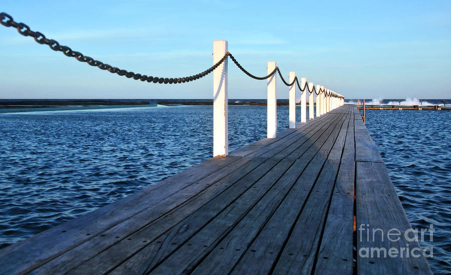 Pier To The Ocean Photograph