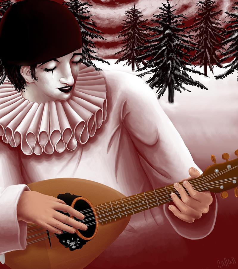 Pierrot Digital Art