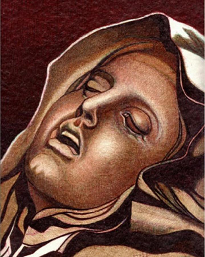 Pieta Drawing