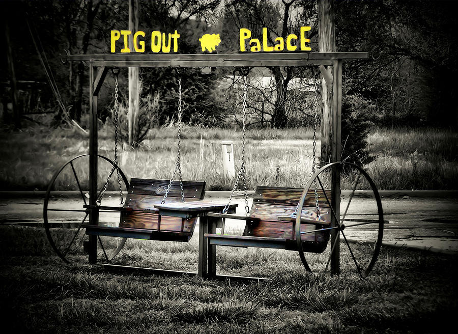 Pig Out Palace Photograph  - Pig Out Palace Fine Art Print