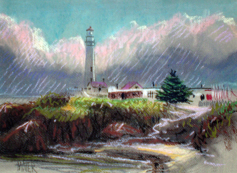 Pigeon Point Light Drawing