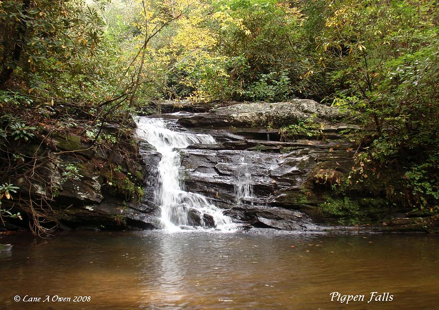Pigpen Falls Oconee County Sc Photograph