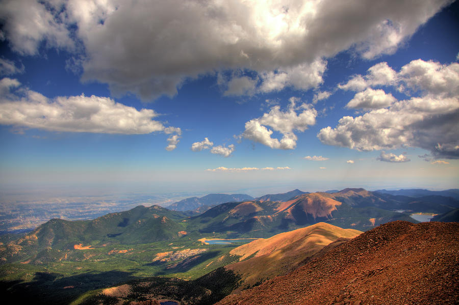 Pikes Peak Summit Photograph