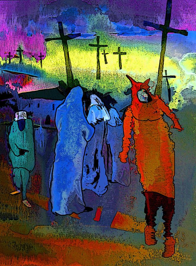 Pilgrimage Painting