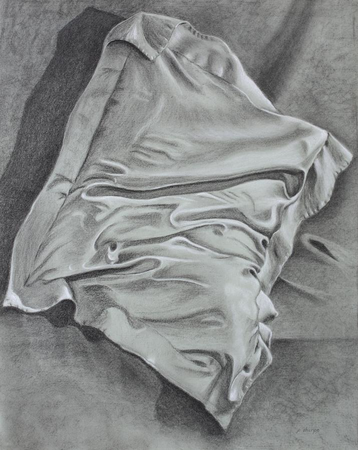 Pillow Talk Drawing by Patsy Sharpe