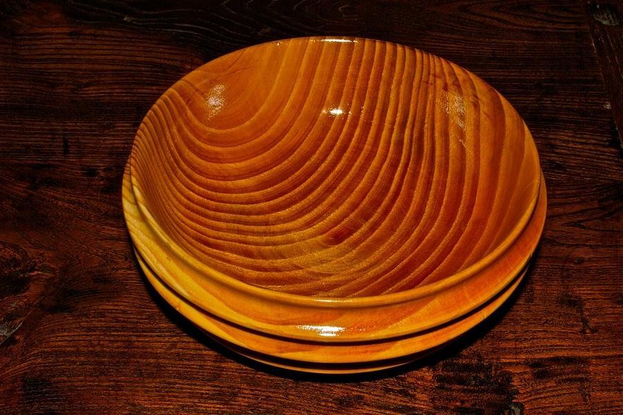 Pine Bowl Sculpture