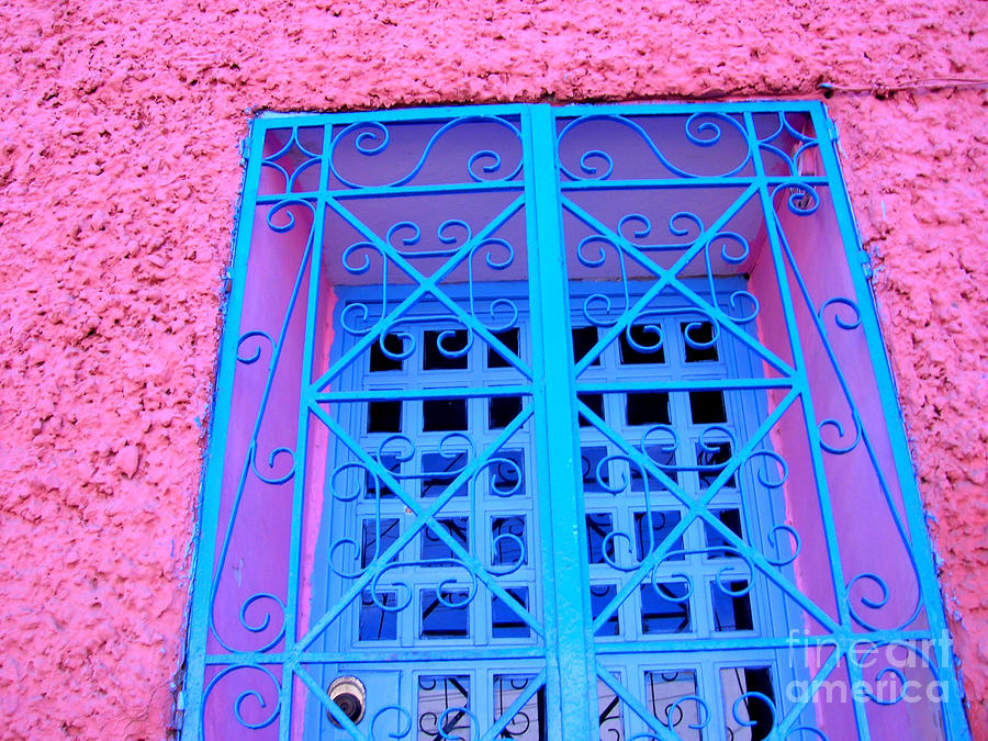 Pink And Blue By Michael Fitzpatrick Photograph