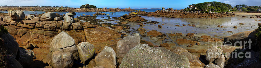 Pink Granite Coast Photograph  - Pink Granite Coast Fine Art Print