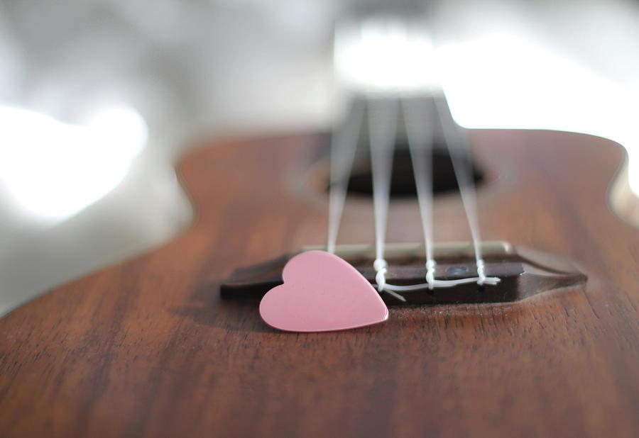Pink Heart Photograph