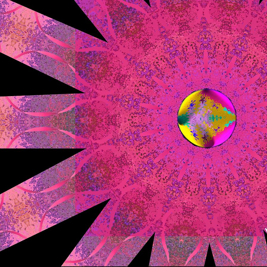 Pink Ribbon Of Hope Digital Art
