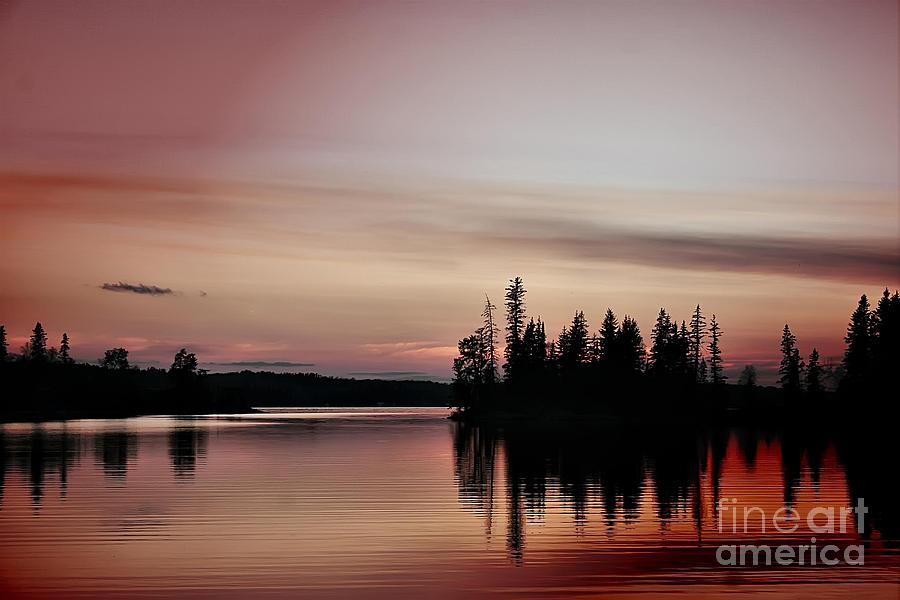 Pink Sunset Photograph  - Pink Sunset Fine Art Print
