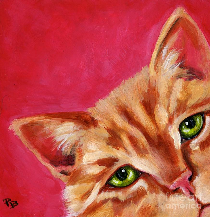 Pink With Attitude Painting