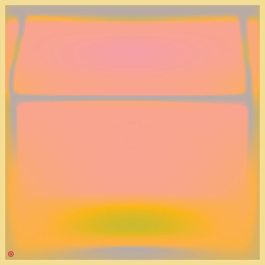 Pink Painting - Pink Yellow And Grey by Gary Grayson
