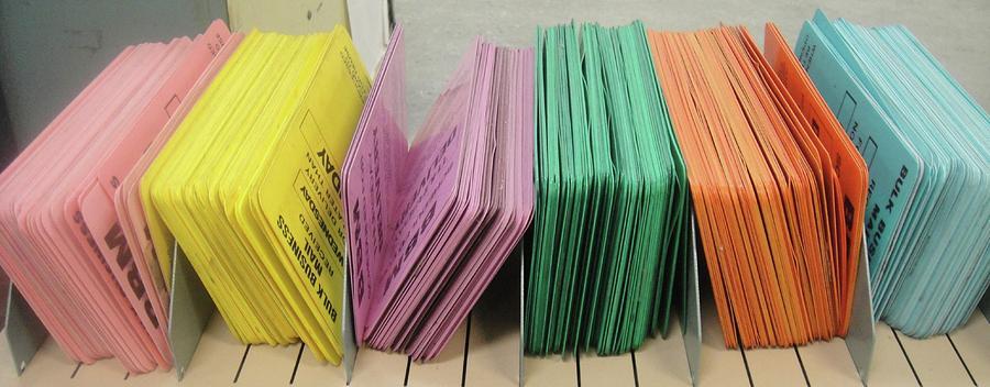 Pink.yellow.violet.green.orange.blue Photograph