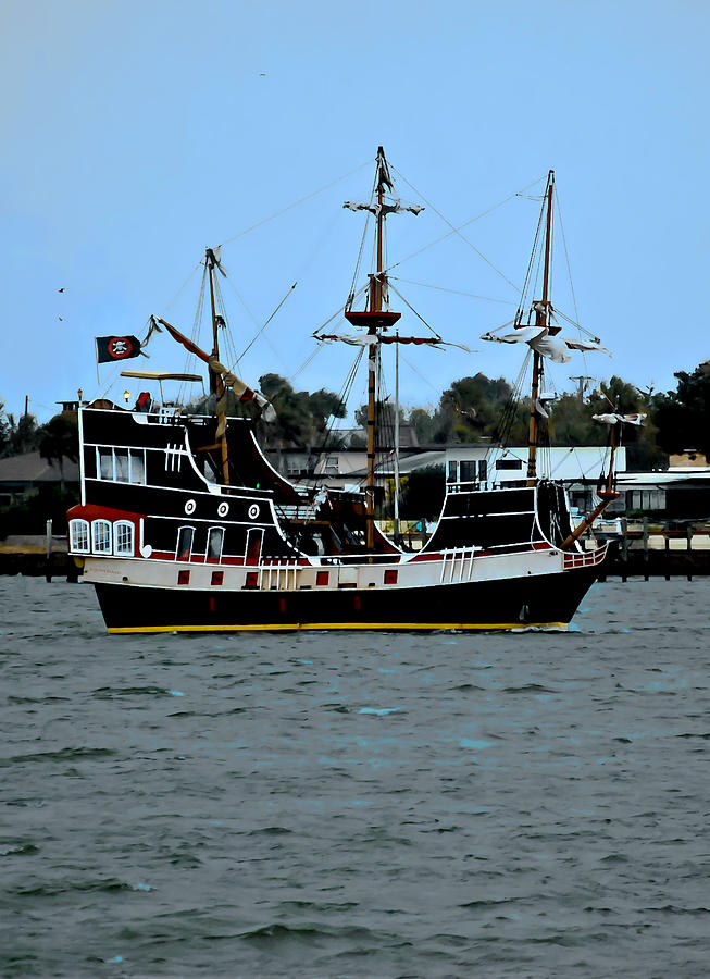 Pirate Ship Of The Matanzas Photograph