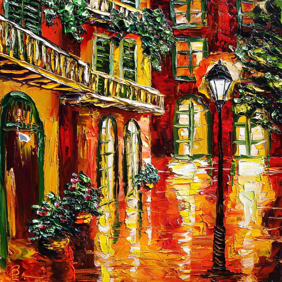 Pirates Alley Painting  - Pirates Alley Fine Art Print