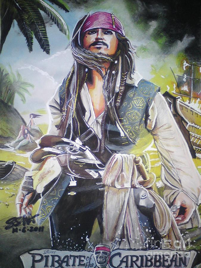 Pirates Of The Caribbean On Strangers Tides Painting