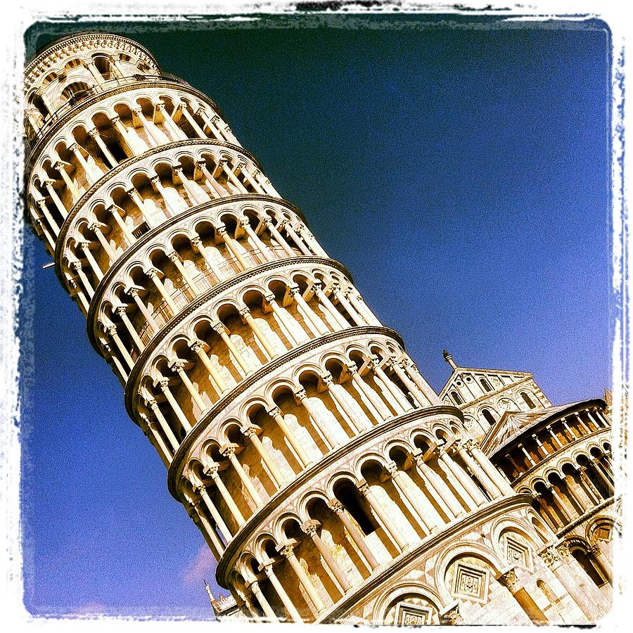 Pisa Tower Photograph  - Pisa Tower Fine Art Print