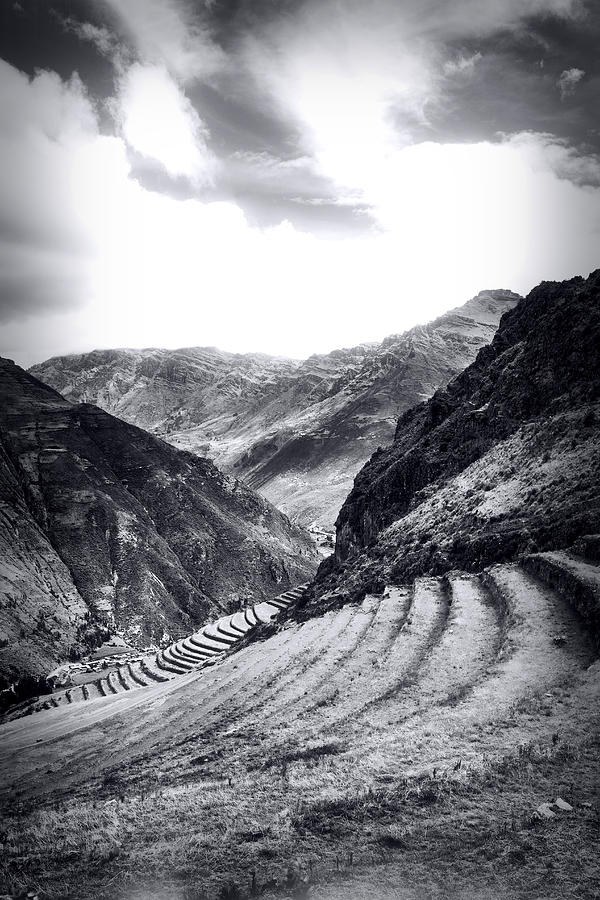 Pisac Fields Photograph  - Pisac Fields Fine Art Print