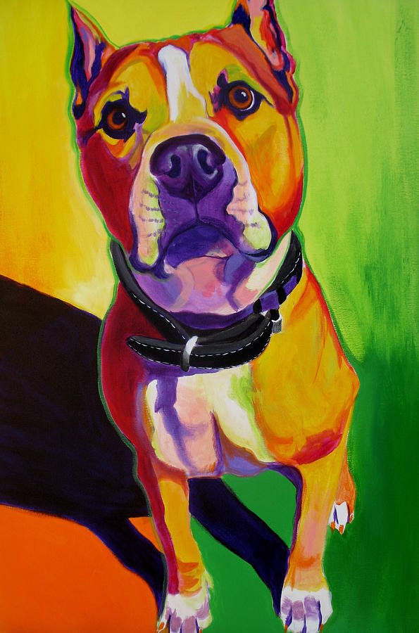 Pit Bull - Fifty Painting