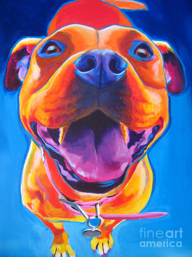 Pit Bull - Lots To Love Painting