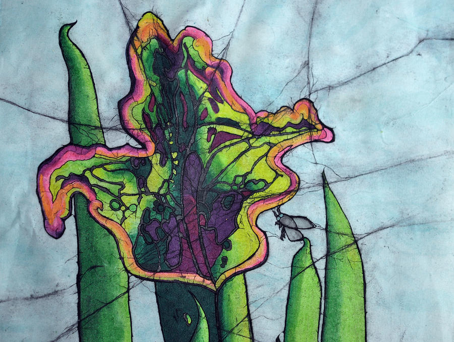 Nature Painting - Pitcher Plant by Shari Carlson