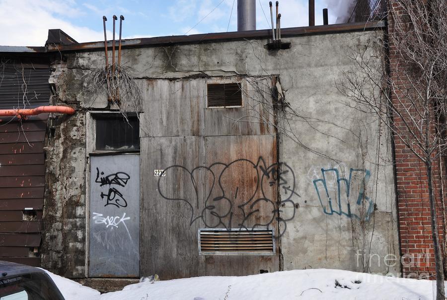 Pitt Street Wall Photograph