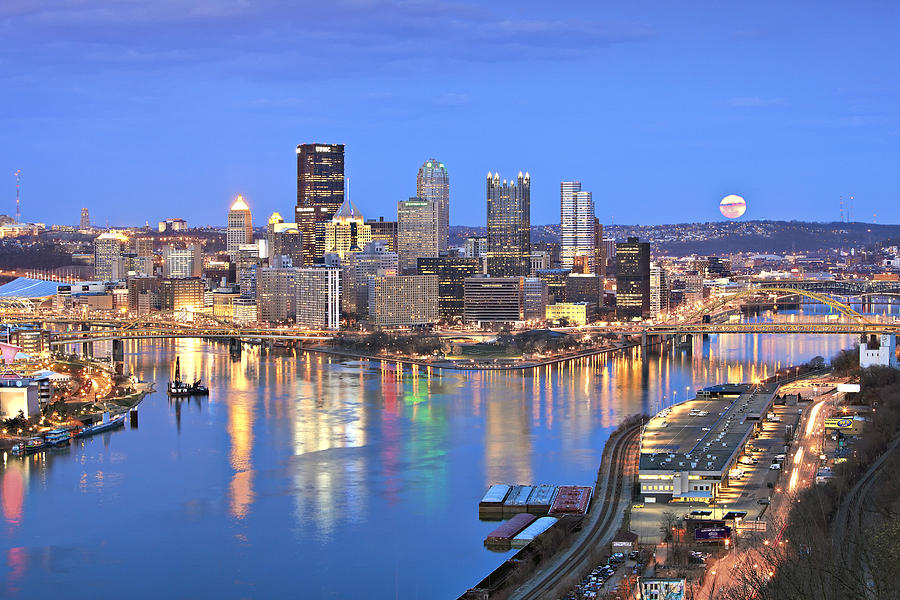 Pittsburgh 18 Photograph