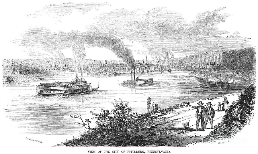 Pittsburgh, 1853 Photograph