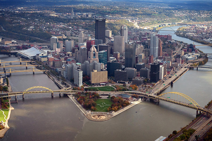 Pittsburgh 8 In Color  Photograph  - Pittsburgh 8 In Color  Fine Art Print