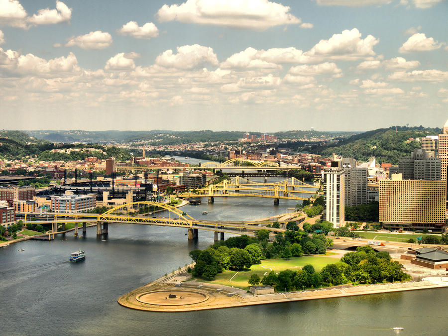 Pittsburgh Hdr Photograph