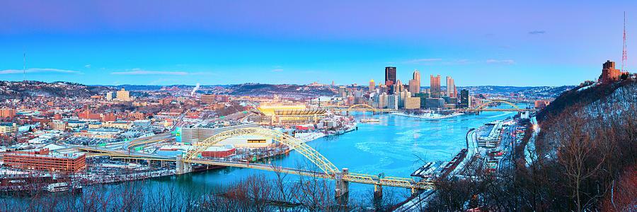 Pittsburgh Pano 3 Photograph