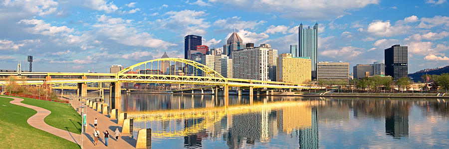 Pittsburgh Pano 9 Photograph  - Pittsburgh Pano 9 Fine Art Print