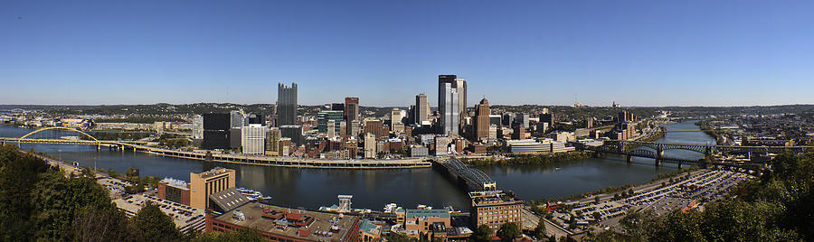 Pittsburgh Panoramic Photograph