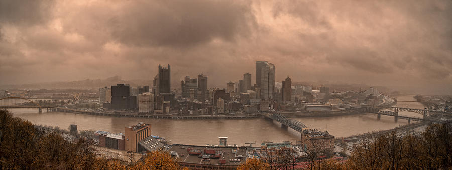 Pittsburgh Skyline 1 Photograph