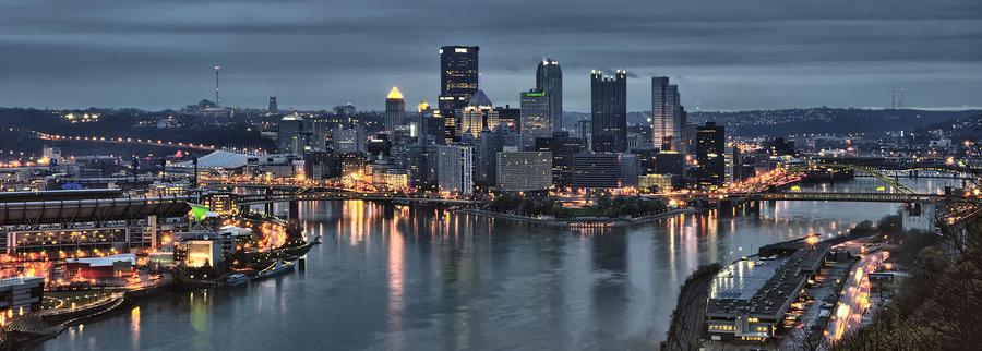 Pittsburgh Skyline 2 Photograph