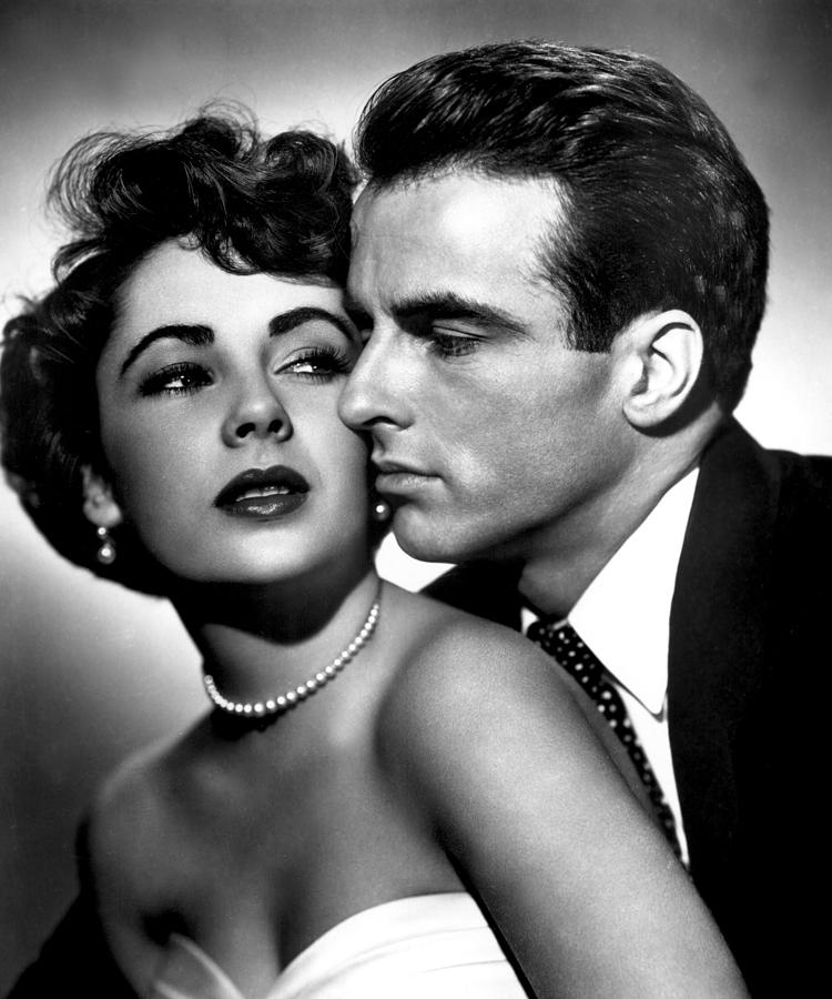 1950s Movies Photograph - Place In The Sun, Elizabeth Taylor by Everett