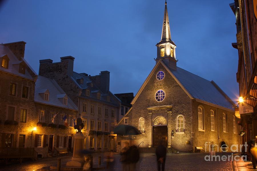 Place Royale And Notre-dame-des-victoires Church Photograph