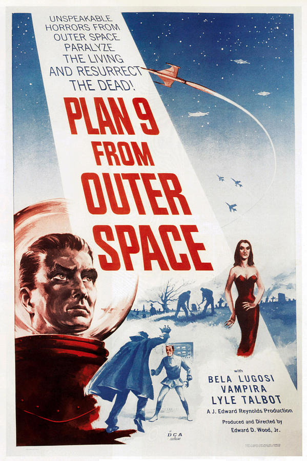 Plan 9 From Outer Space, 1959 Photograph  - Plan 9 From Outer Space, 1959 Fine Art Print