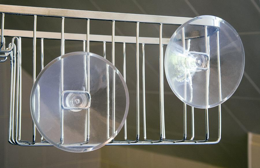 Equipment Photograph - Plastic Suction Cups by Sheila Terry