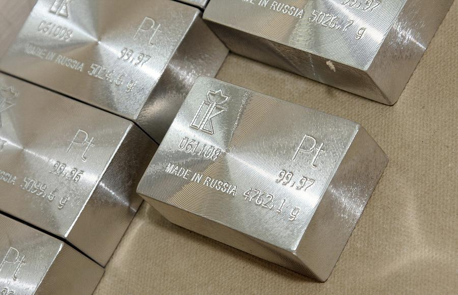 Platinum Bars Photograph