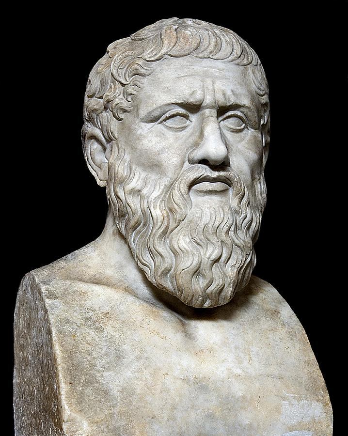 5th Century Bc Photograph - Plato by Sheila Terry