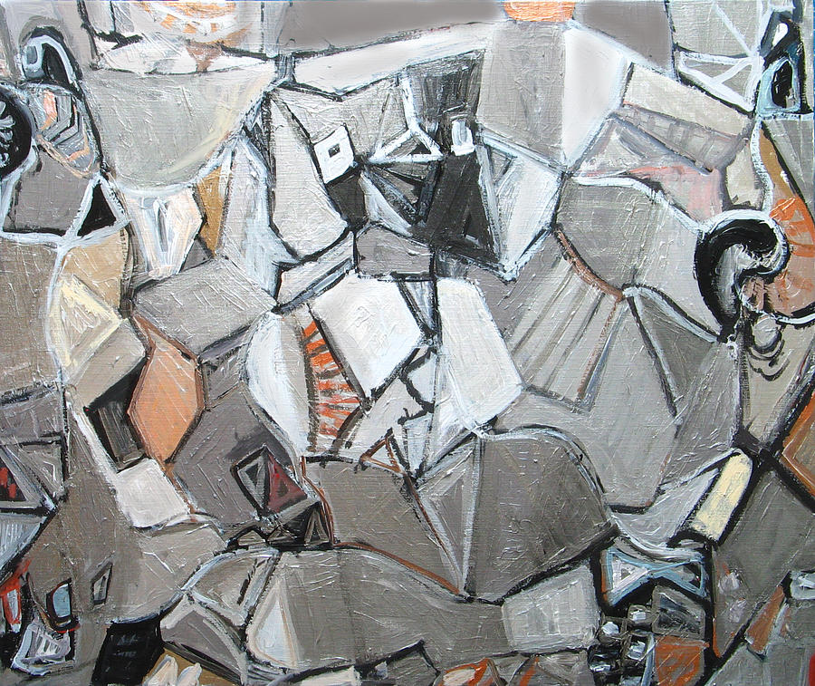Platos Metallic Symposium Painting