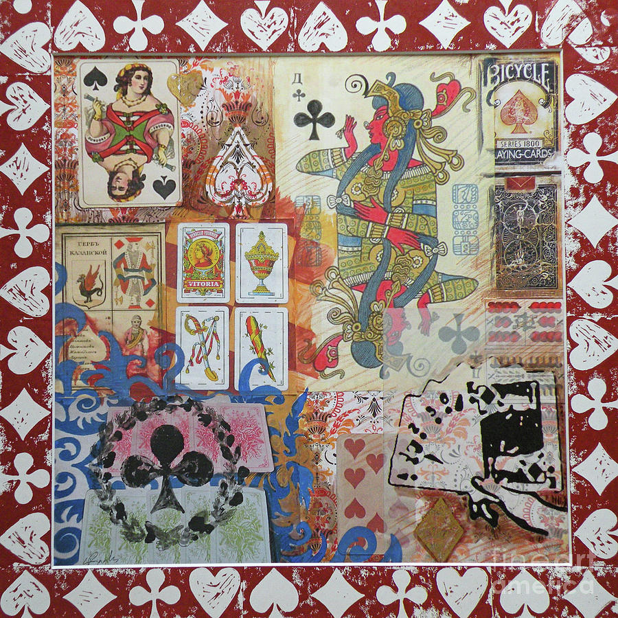 Playing Cards Mixed Media