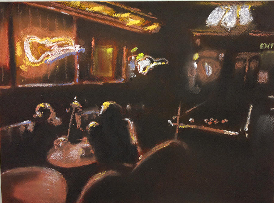 Pool Pastel - Playing Pool by Paul Mitchell