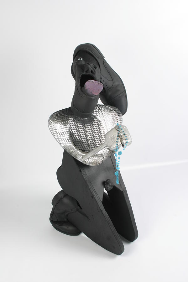 Please Please I M On My Knees Sculpture  - Please Please I M On My Knees Fine Art Print