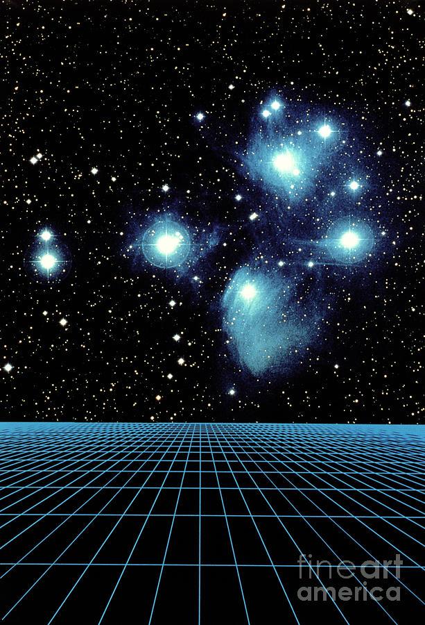 Pleiades In Taurus Photograph