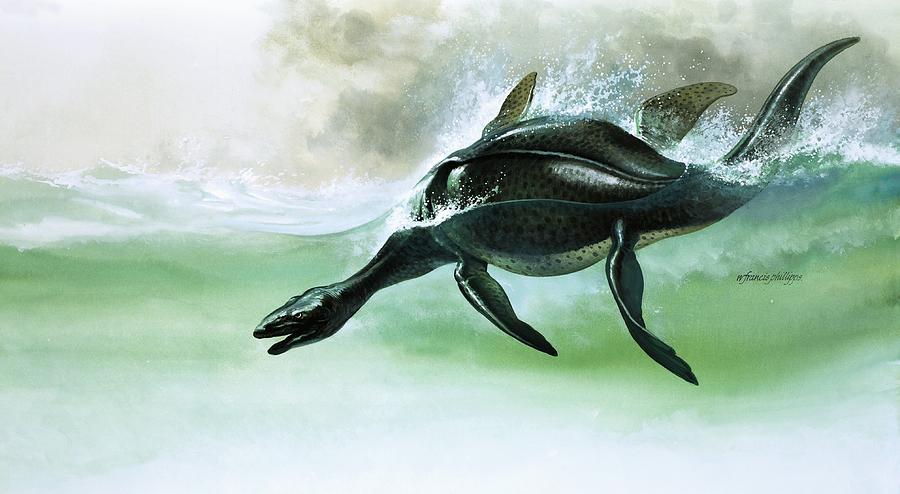 Plesiosaurus Painting
