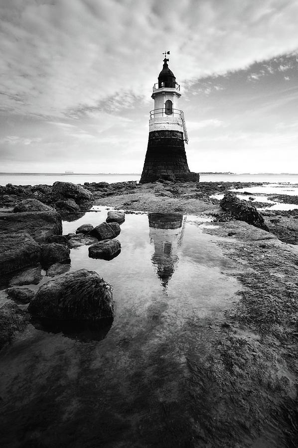 Plover Scar Lighthouse Photograph
