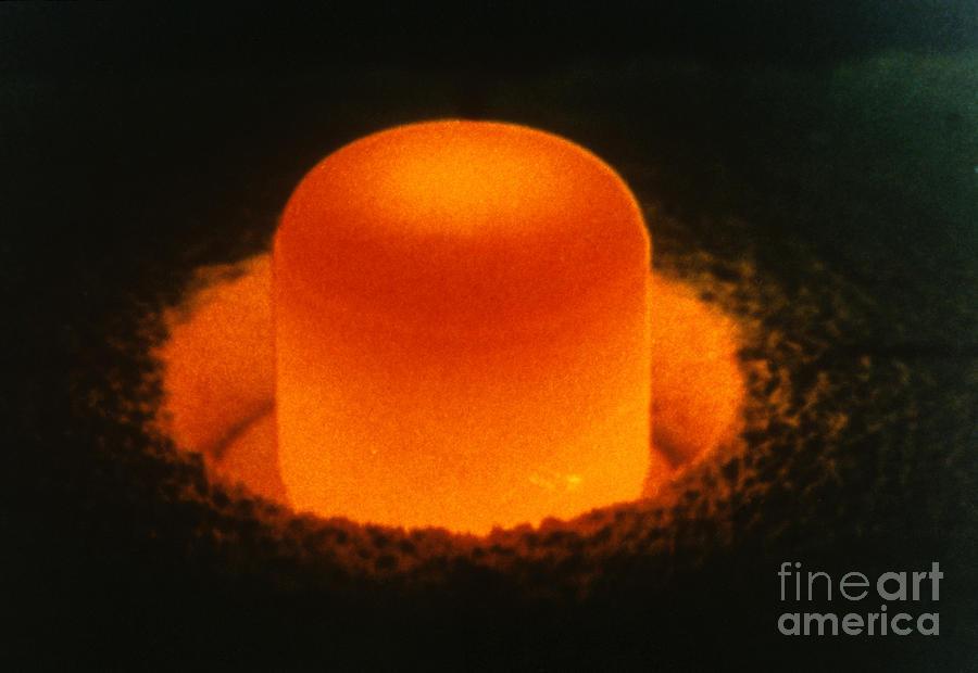 Plutonium 238 Sphere By Photo Researchers